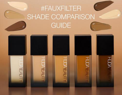 Huda Beauty Fauxfilter Foundation Simple Mu