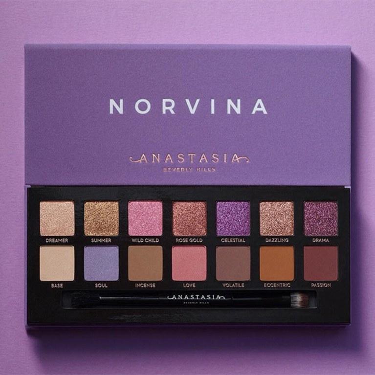 Anastasia Beverly Hills Norvina Eyeshadow Palette Simple Mu